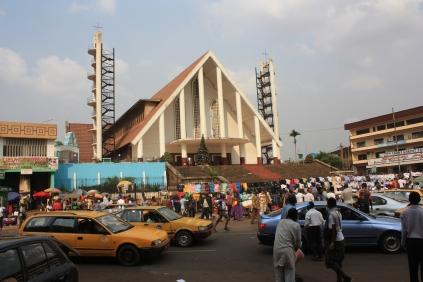 La cathédrale de Yaoundé / Yaoundé's cathedral