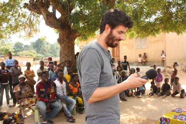 En reportage près de Bouaké, en Côte d'Ivoire / Reporting from Bouaké, in Ivory Coast