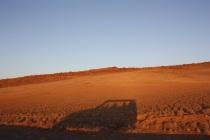 Lever de soleil sur les dunes de Sossusvlei / The sun rising on the Sossusvlei dunes