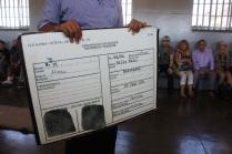 Pendant la visite de la prison / During the Robben Island's prison visit
